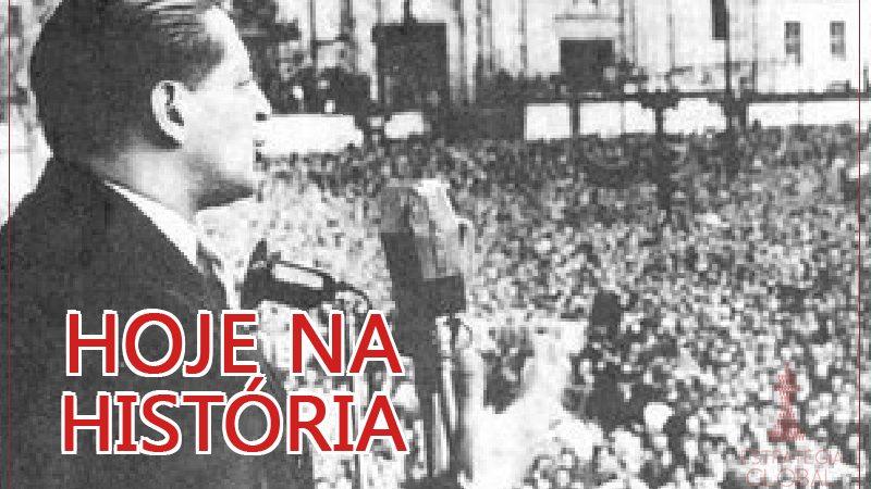 Hoje na História: O assassinato de Jorge Eliécer Gaitán e a origem das guerrilhas na Colômbia