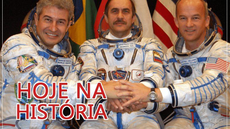 Hoje na História:  Lula envia o primeiro lusófono ao espaço