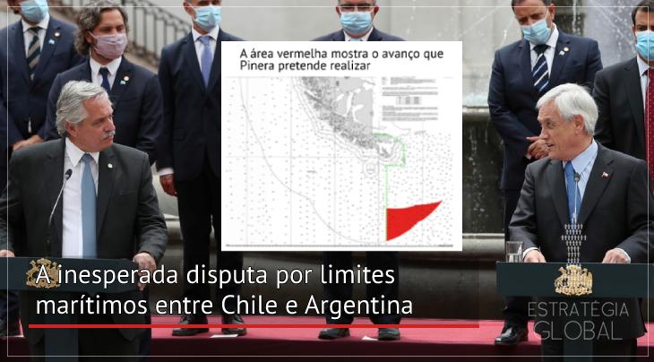 A inesperada disputa por limites marítimos entre Chile e Argentina