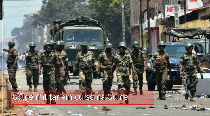 Golpe militar em curso na Guiné