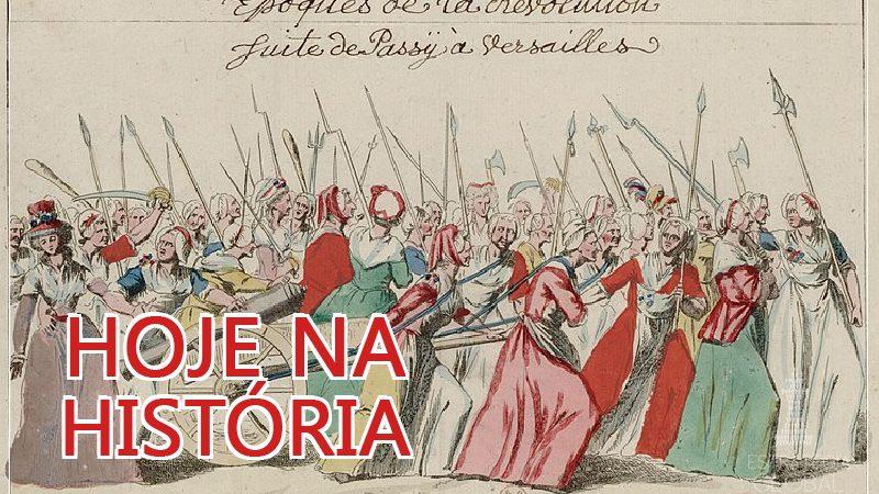 Hoje na história : a Marcha das Mulheres sobre Versalhes